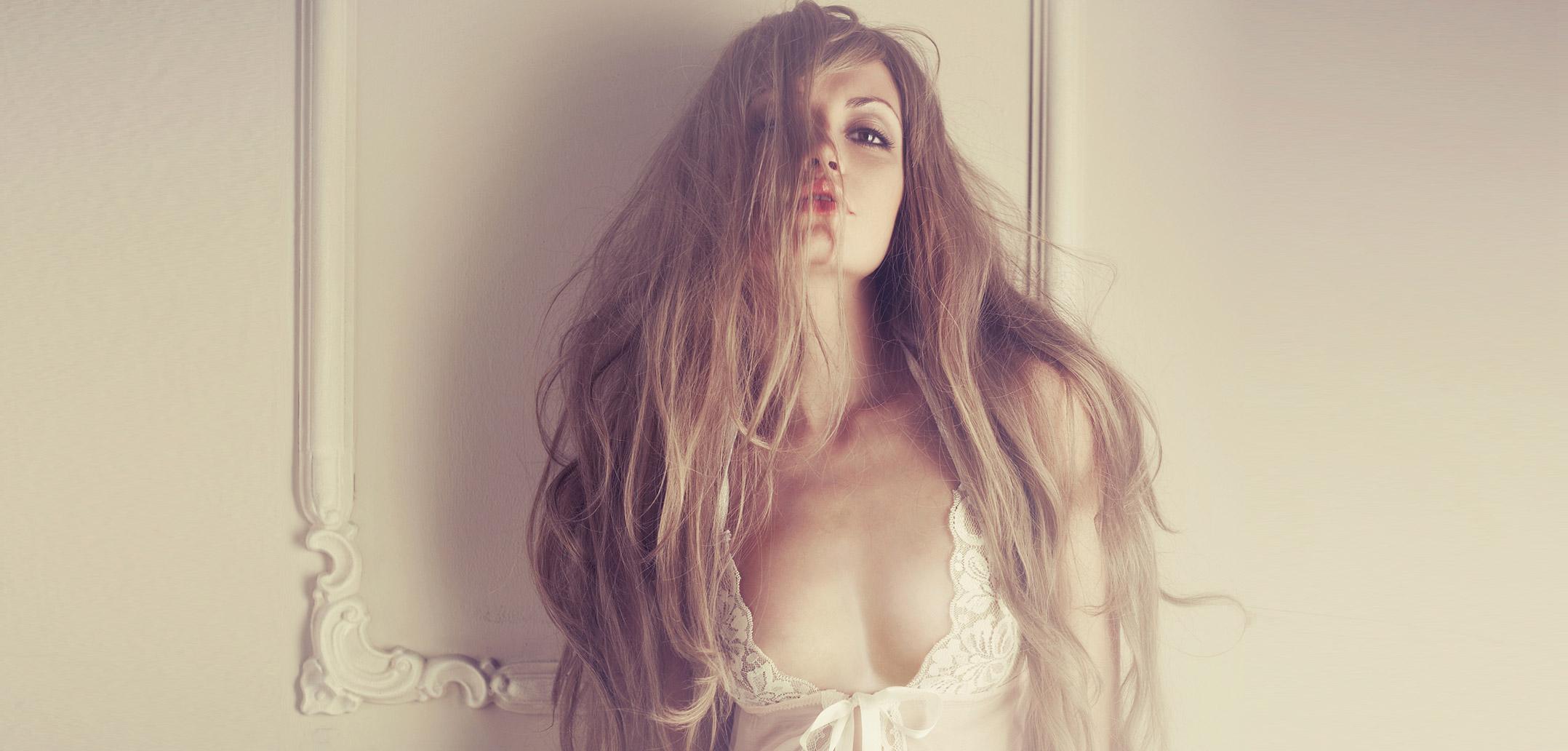 Sexy Frau in Dessous