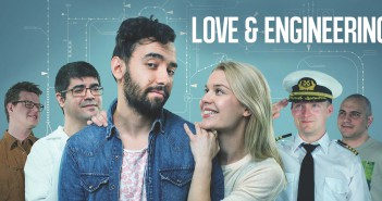 "Kinoposter-Grafik ""Love & Engineering"""