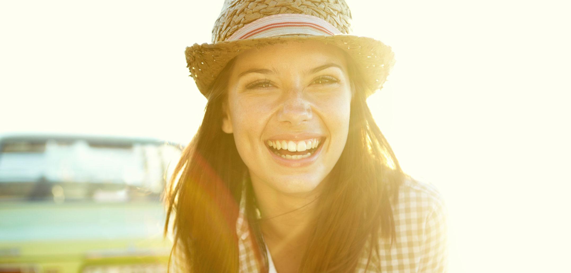 Nachrichten, um sie zum Lächeln zu bringen