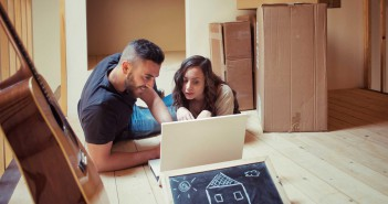 Zusammenziehen, Partnerschaft, gemeinsame Wohnung