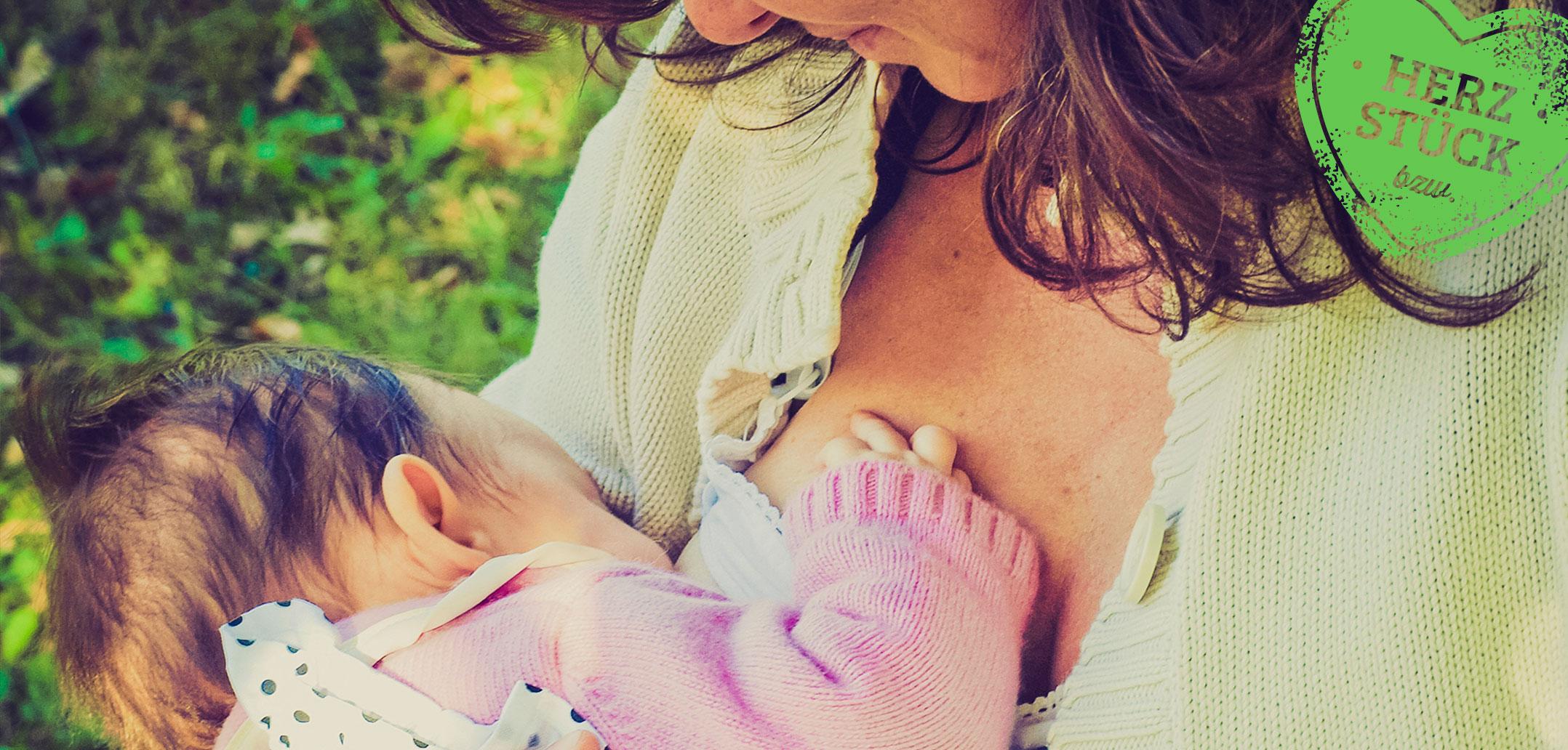 Mütter bitte im Stillen stillen
