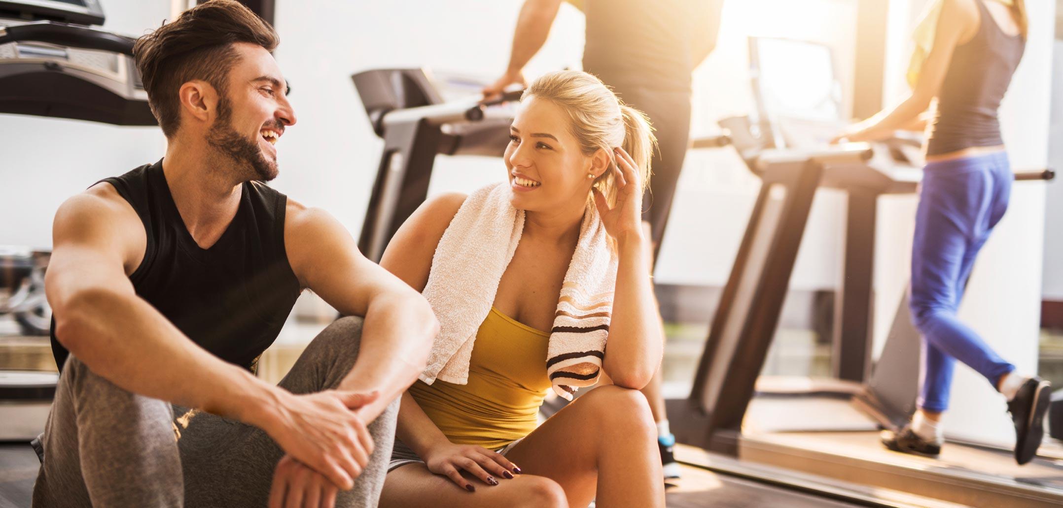 flirten im fitnesstudio