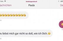 Beziehungs-Gespräche: Liebesbeweise per Textnachricht oder WhatsApp