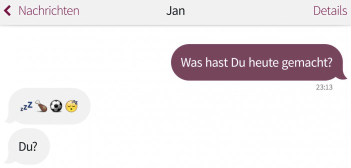 Beziehungs-Gespräche: Wie war dein Tag?
