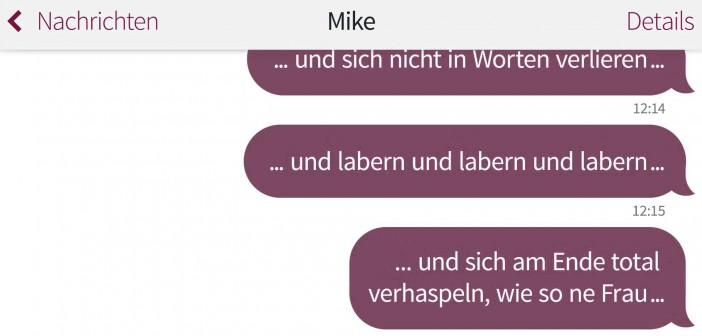 Nach dem 1. Date: Missverständnisse per WhatsApp