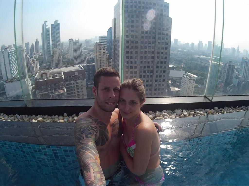 Sara und Marco in Bangkok