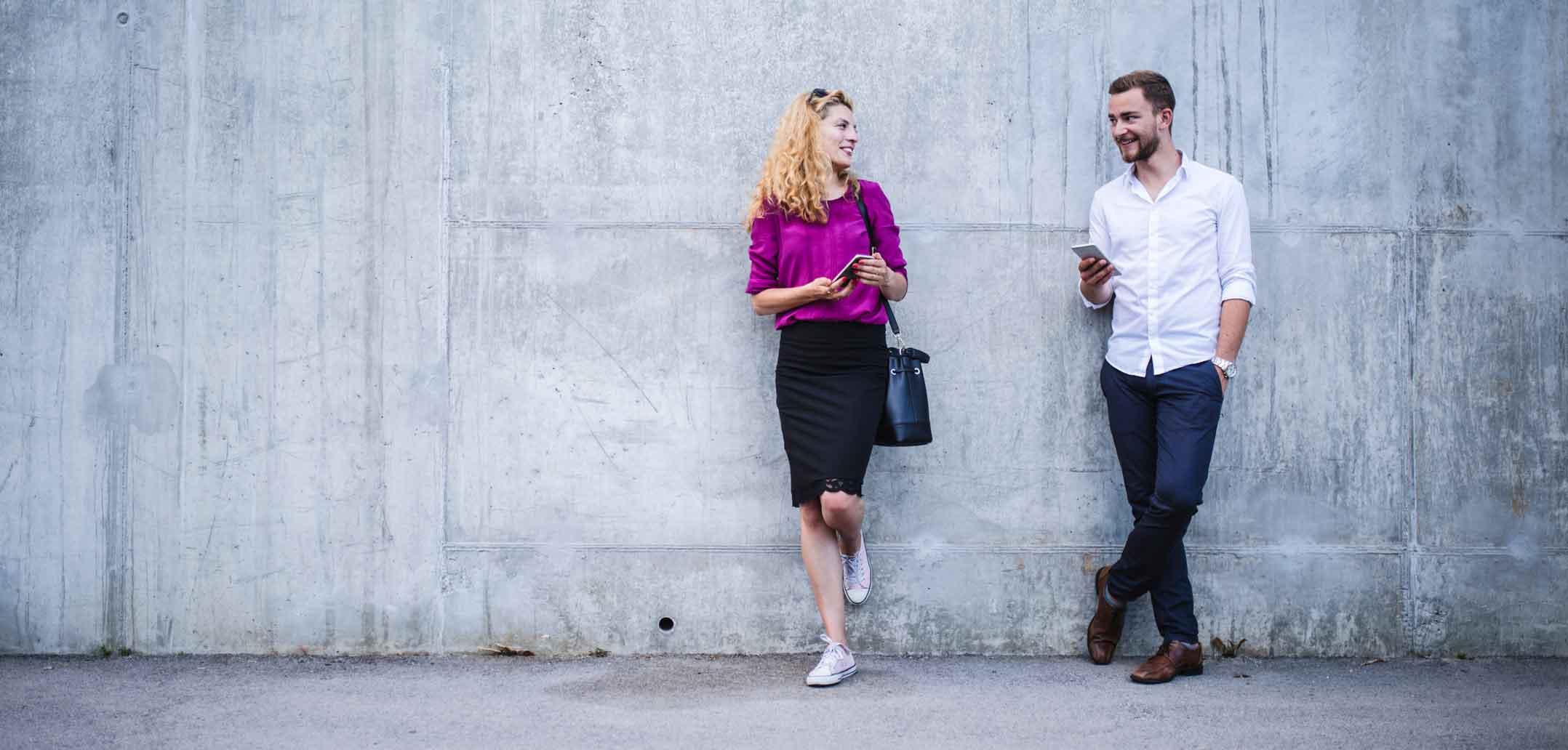 Ist Ihr Partner auch ständig für seinen Chef erreichbar?