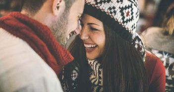 Womit bringt Ihr Partner Sie zum Lächeln