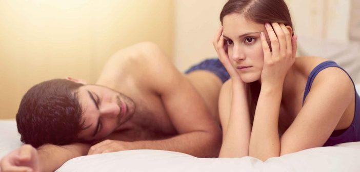 Was tun, wenn es im Bett nicht läuft