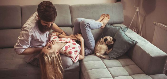 40 Sätze von Paaren nach einem langen Tag