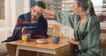 Wernn der Partner krank ist