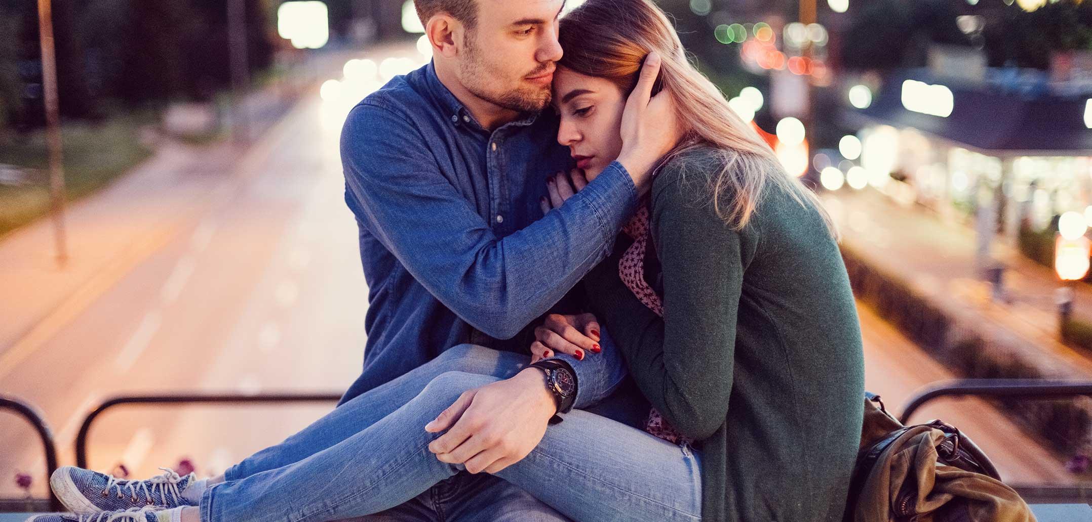Selbstzweifel nagen am Partner und an der Beziehung
