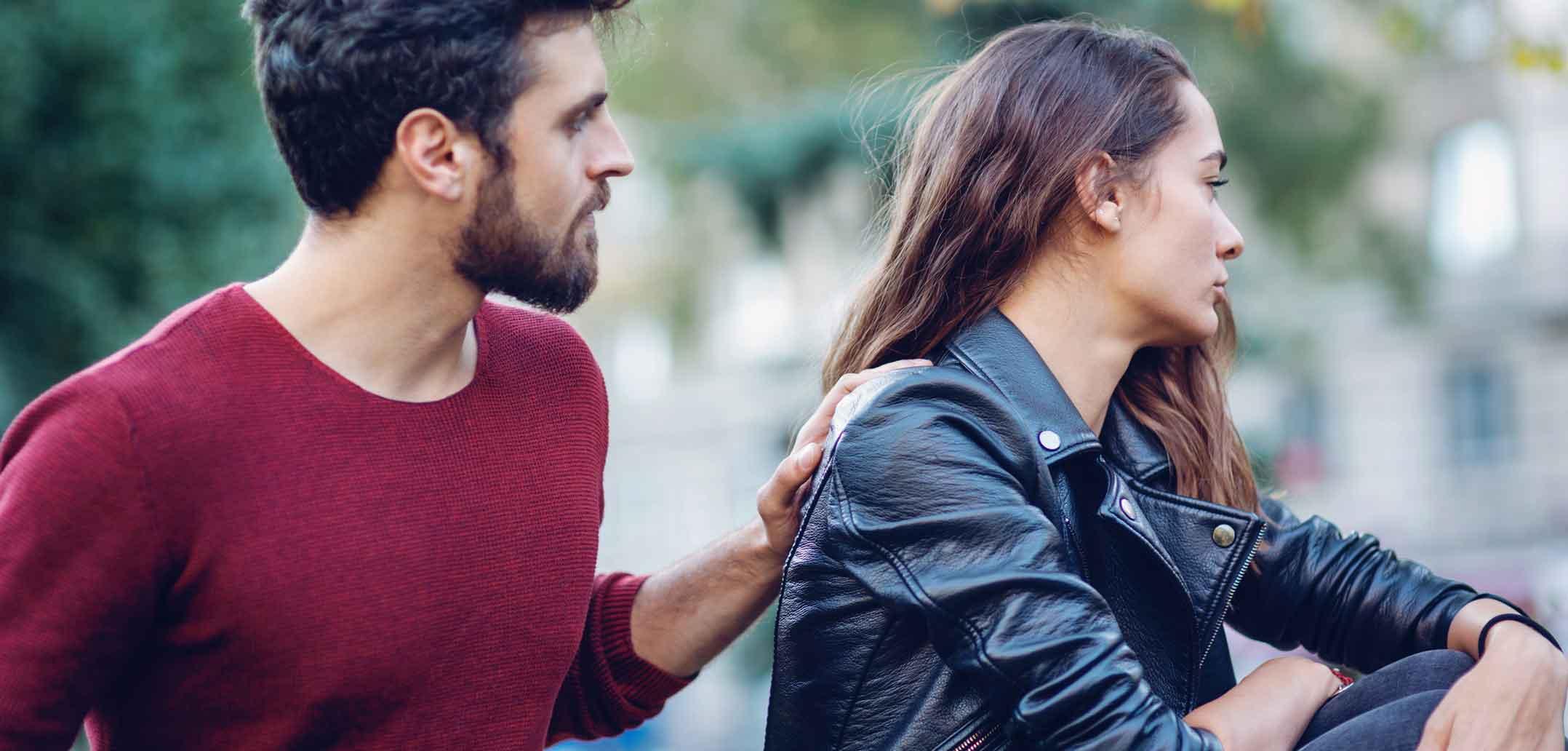 zurückweisung dating