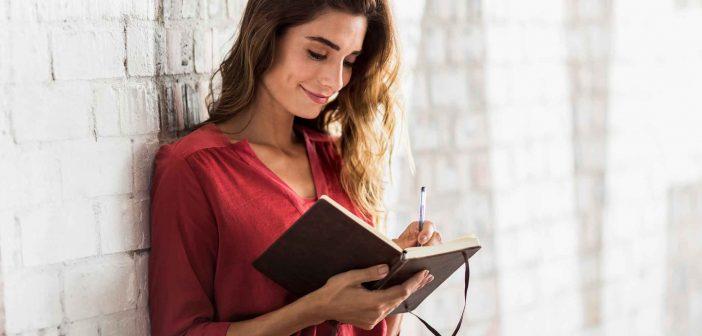 Schreiben hilft, seine Gedankenwelt zu ordnen