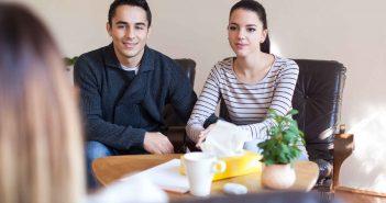 Junge Paare haben Angst zu scheitern