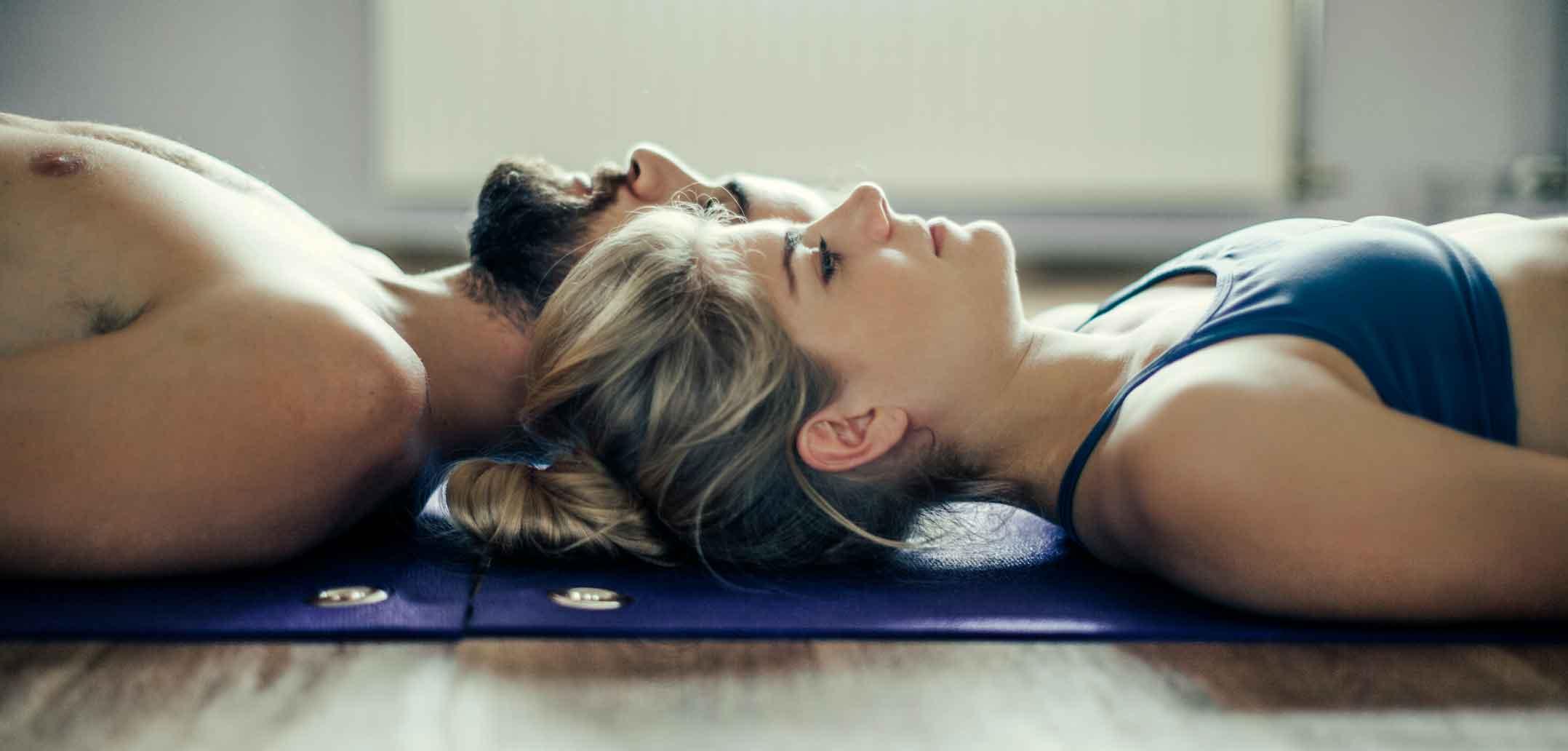 Meditation schafft Nähe zum Partner