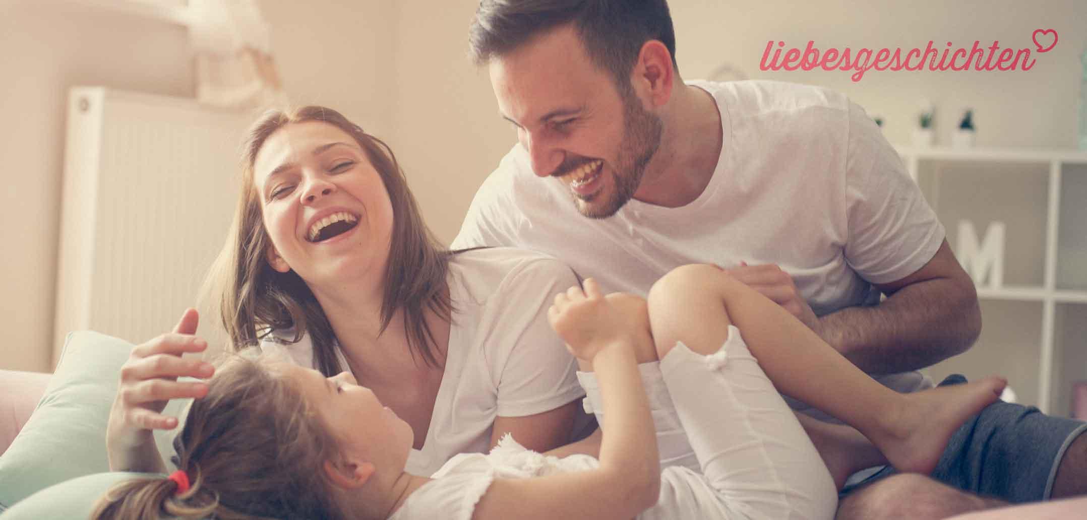 Er füllt die Vaterrolle aus und ist ein liebevoller Partner
