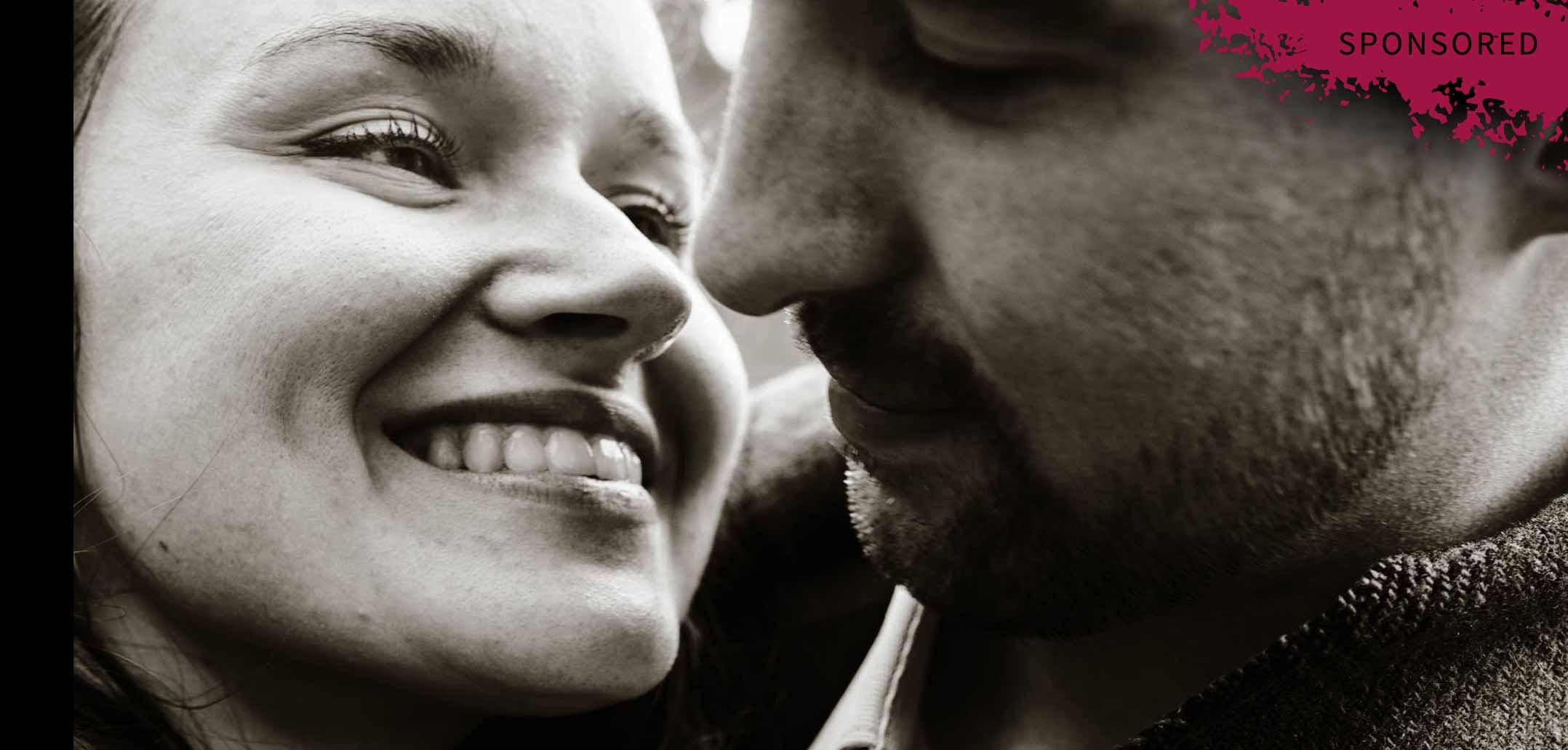 Lächeln ist wichtig für die Beziehung