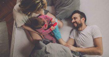 Eine Familie macht glücklich