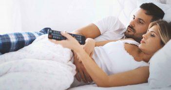 Fernsehgucken schadet dem Sexleben