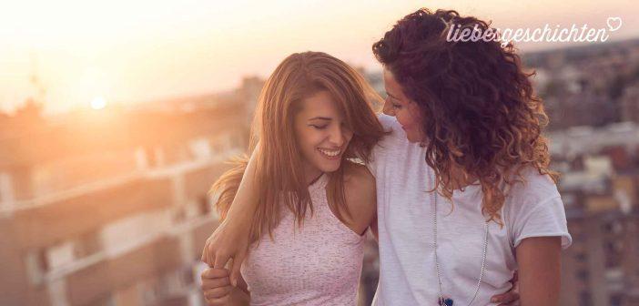 Nach Beziehungen mit Männern, verliebte sie sich in eine Frau