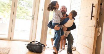 Das so genannte Nestmodell hilft Kindern die Trennung der Eltern besser zu verarbeiten