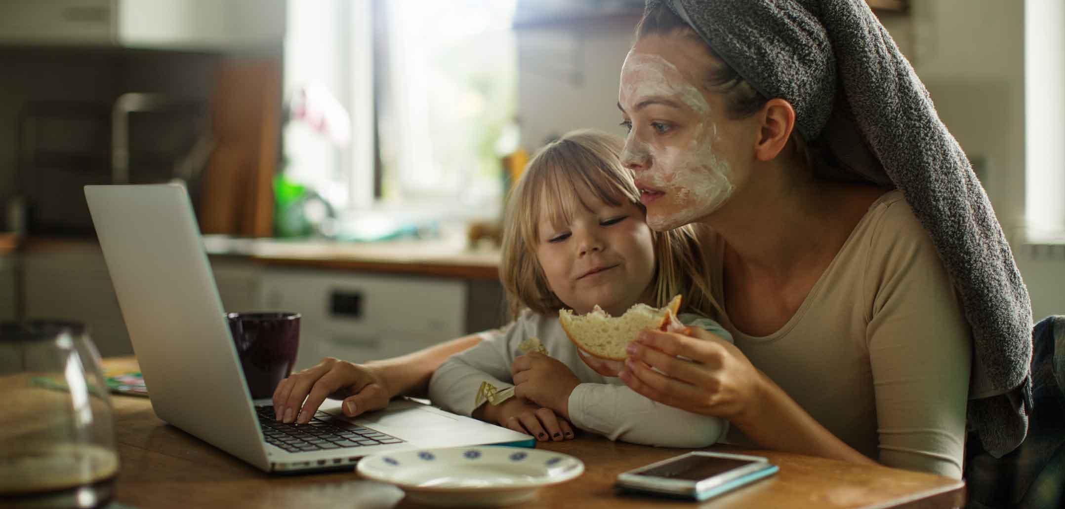 Hohe Ansprüche an Mütter