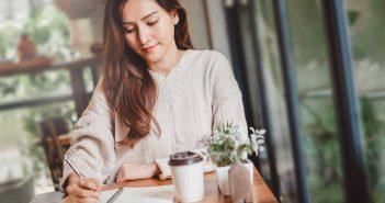 Ein Brief kann helfen, sich seiner Gefühle bewusst zu werden