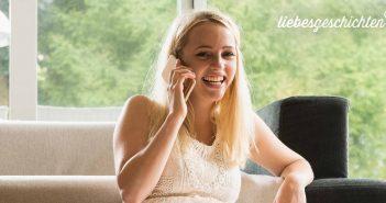 Sie verliebten sich via Telefon