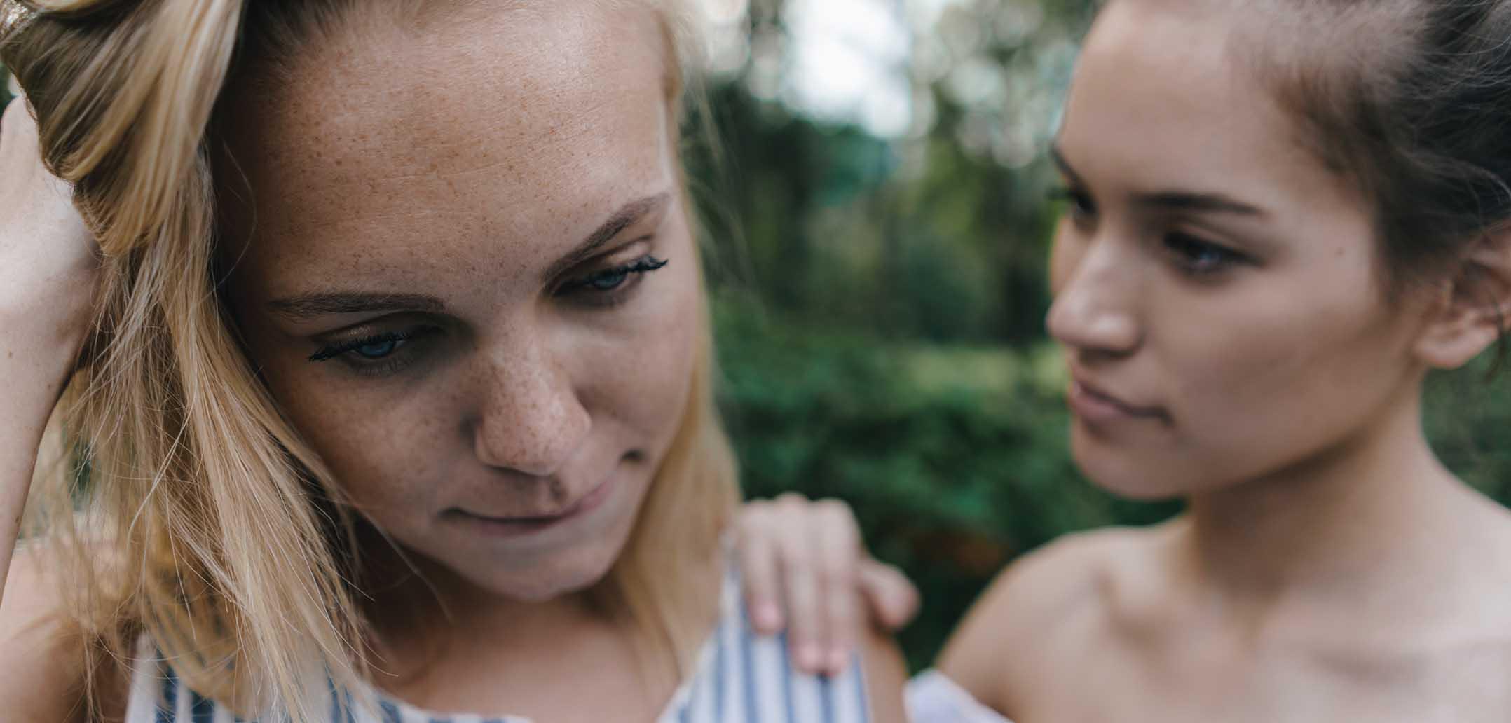 Ist es okay sich in die Belange Ihrer Freundin einzumischen?
