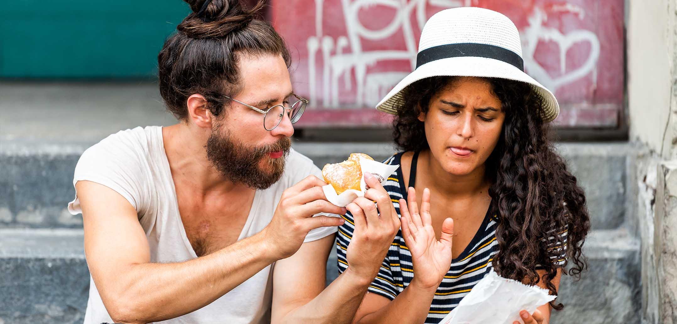 Die Ernährung ist ein beliebtes Streitthema in Beziehungen