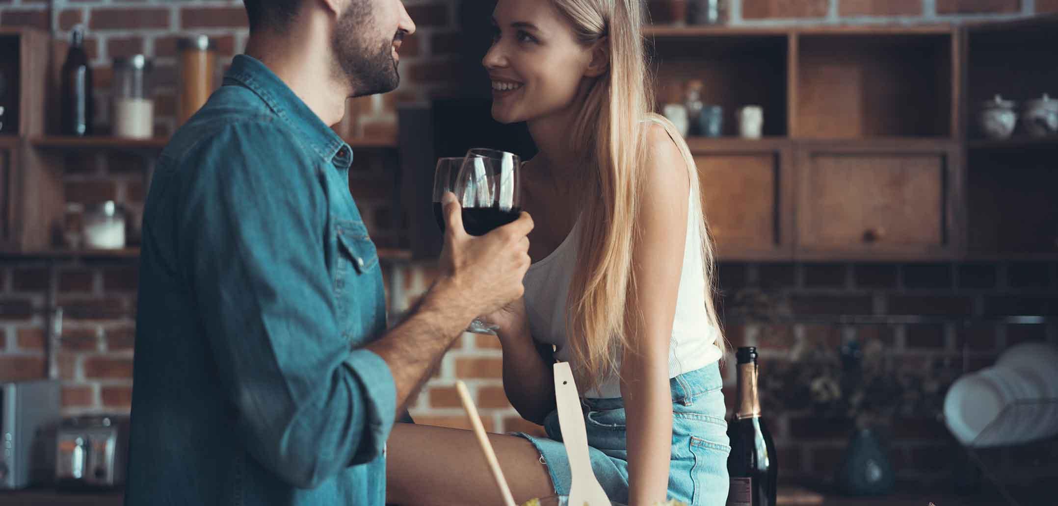 Alkohol in der Partnerschaft kann zu Stress führen