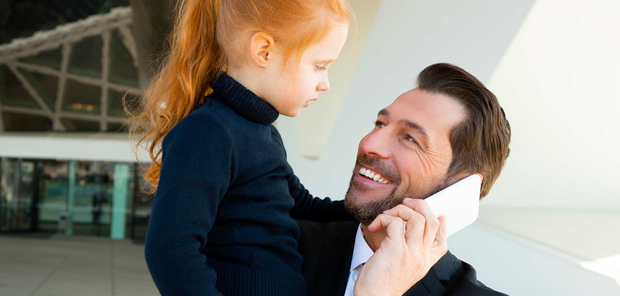 Väter haben gute Chancen auf Karriere