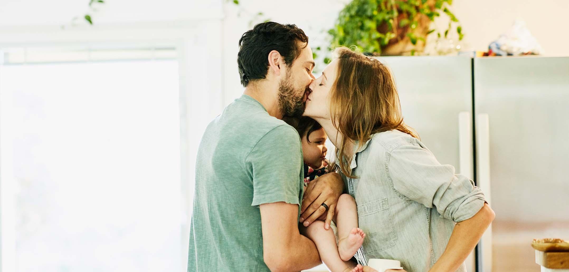Junge Eltern haben es nicht leicht, ein angeregtes Sexleben zu haben