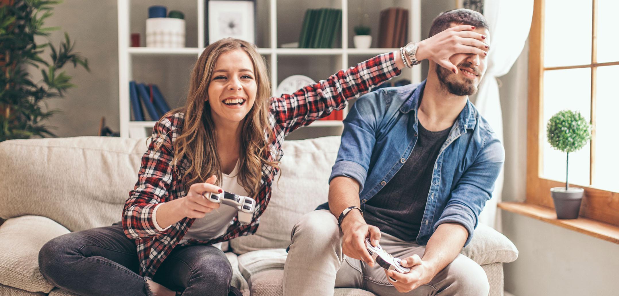 Konsolenspiele für Paare