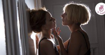 Zärtlichkeit zwischen zwei Frauen