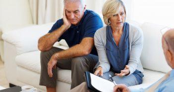 Eltern bei der Paartherapie