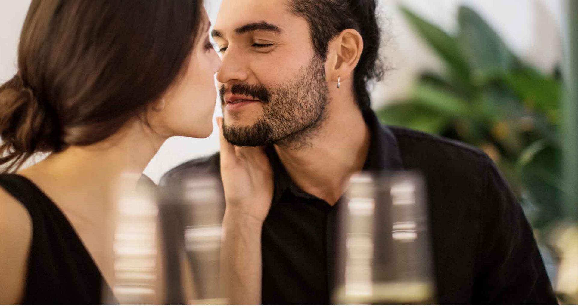 der magische erste Kuss