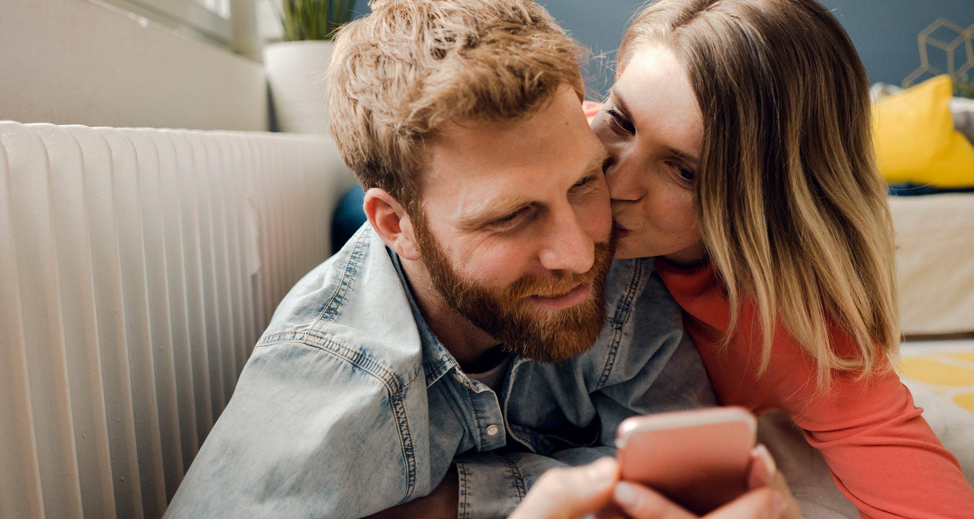 Wenn Paare erreichbar füreinander sind
