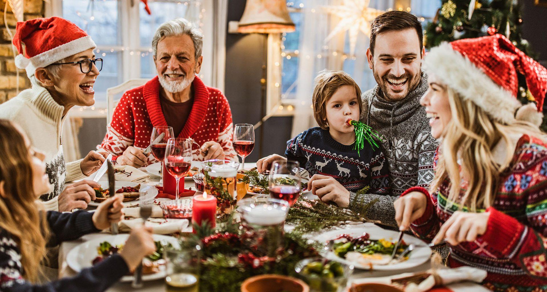 Weihnachten ohne Familie? Auf keinen Fall