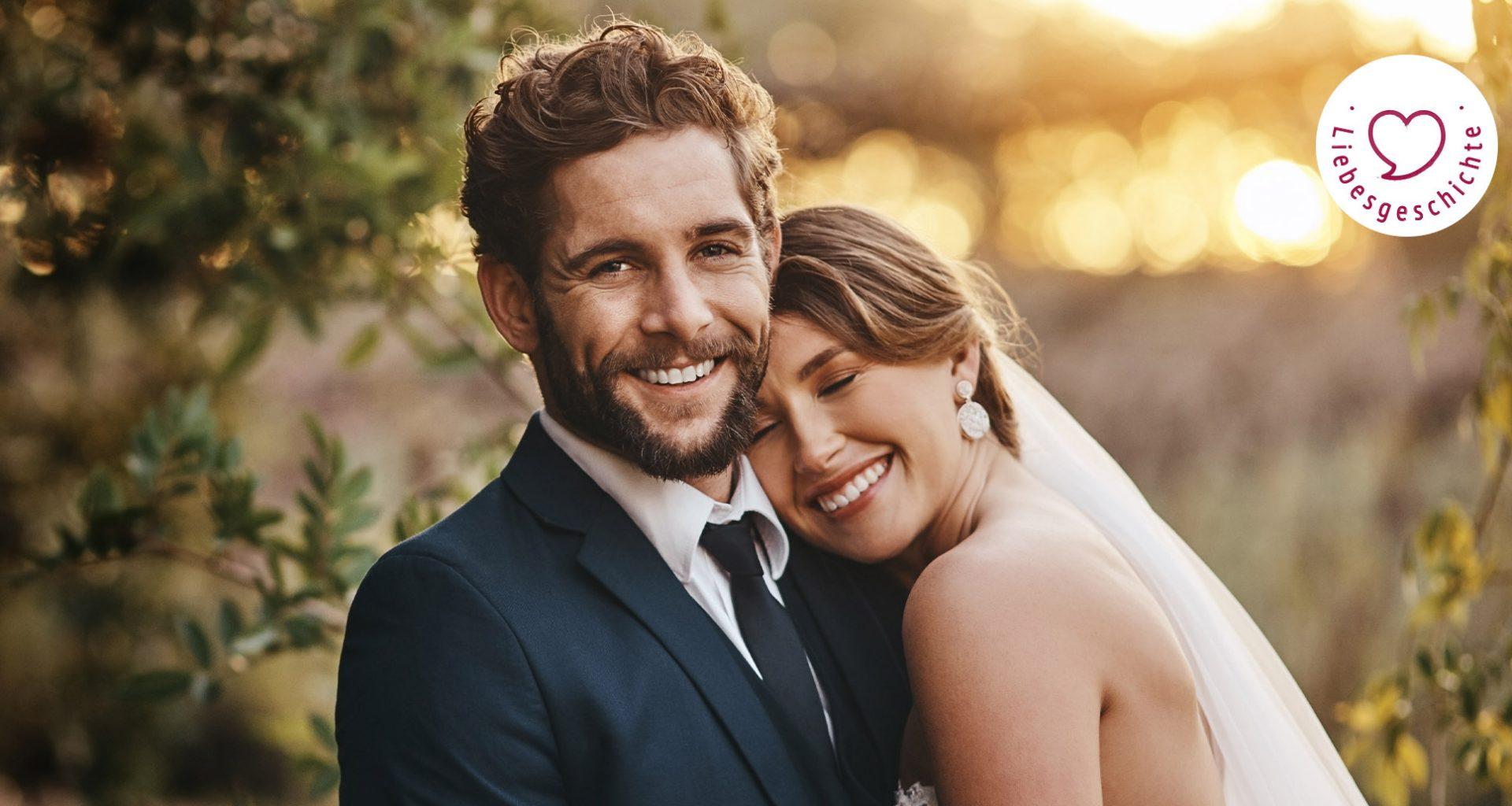 """junges Brautpaar: Nicht """"Mein"""", nicht """"Dein"""", sondern """"Wir"""""""
